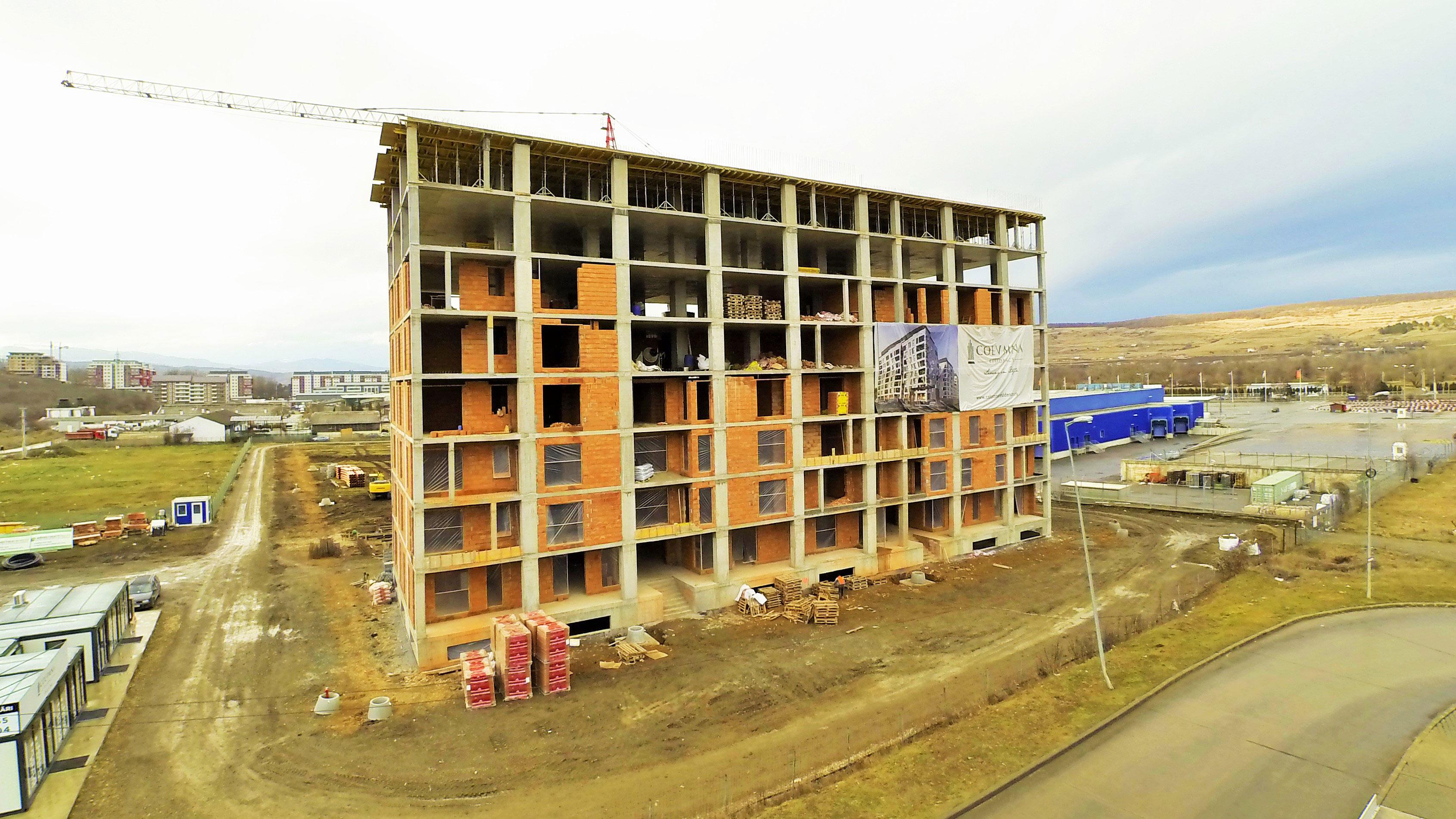 Apartamente Floresti Stadiu Proiect Ianuarie Februarie 2018 Columna Residence