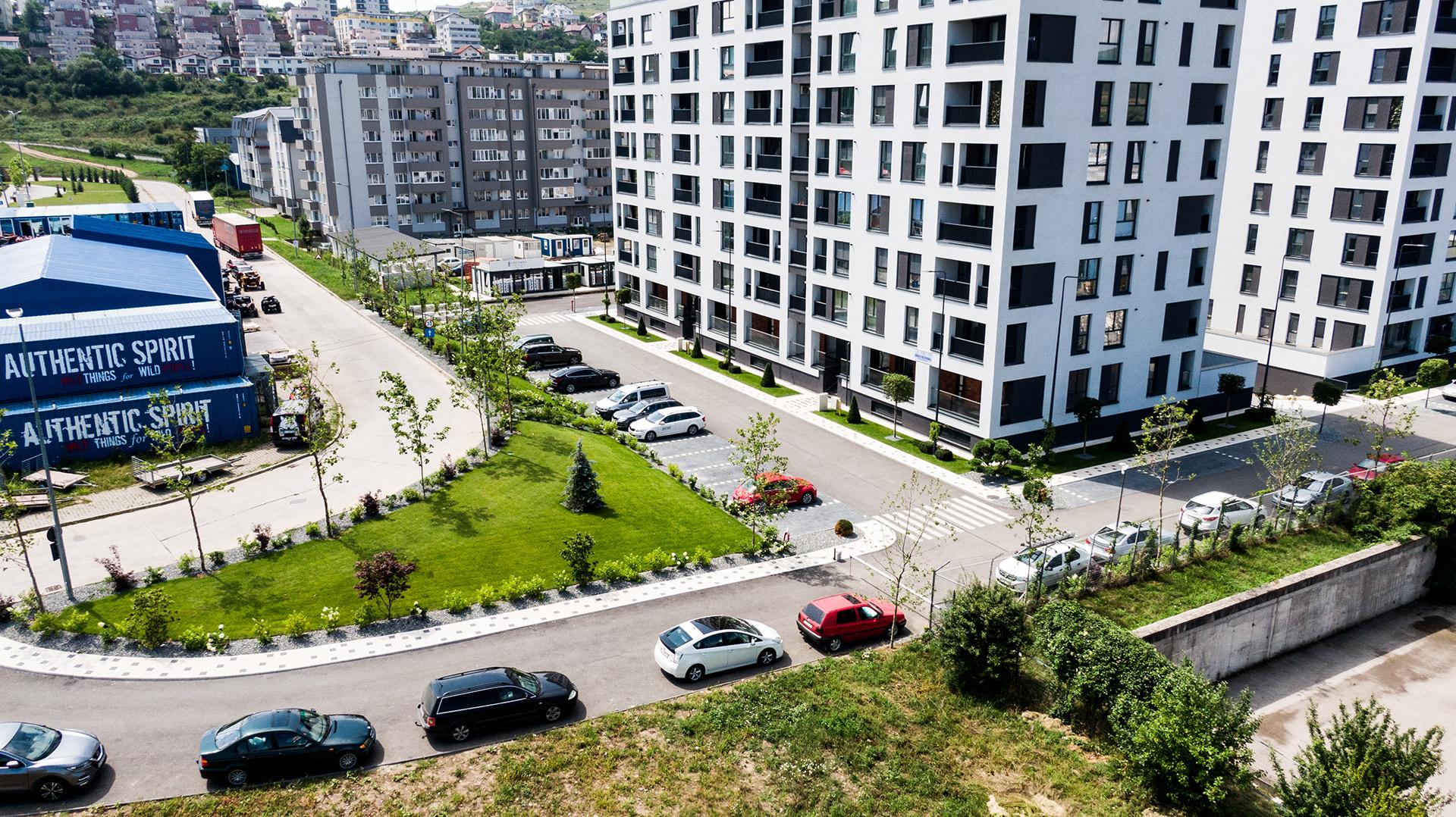 Apartamente Floresti Stadiu Proiect Iunie Iulie 2020 Columna Residence