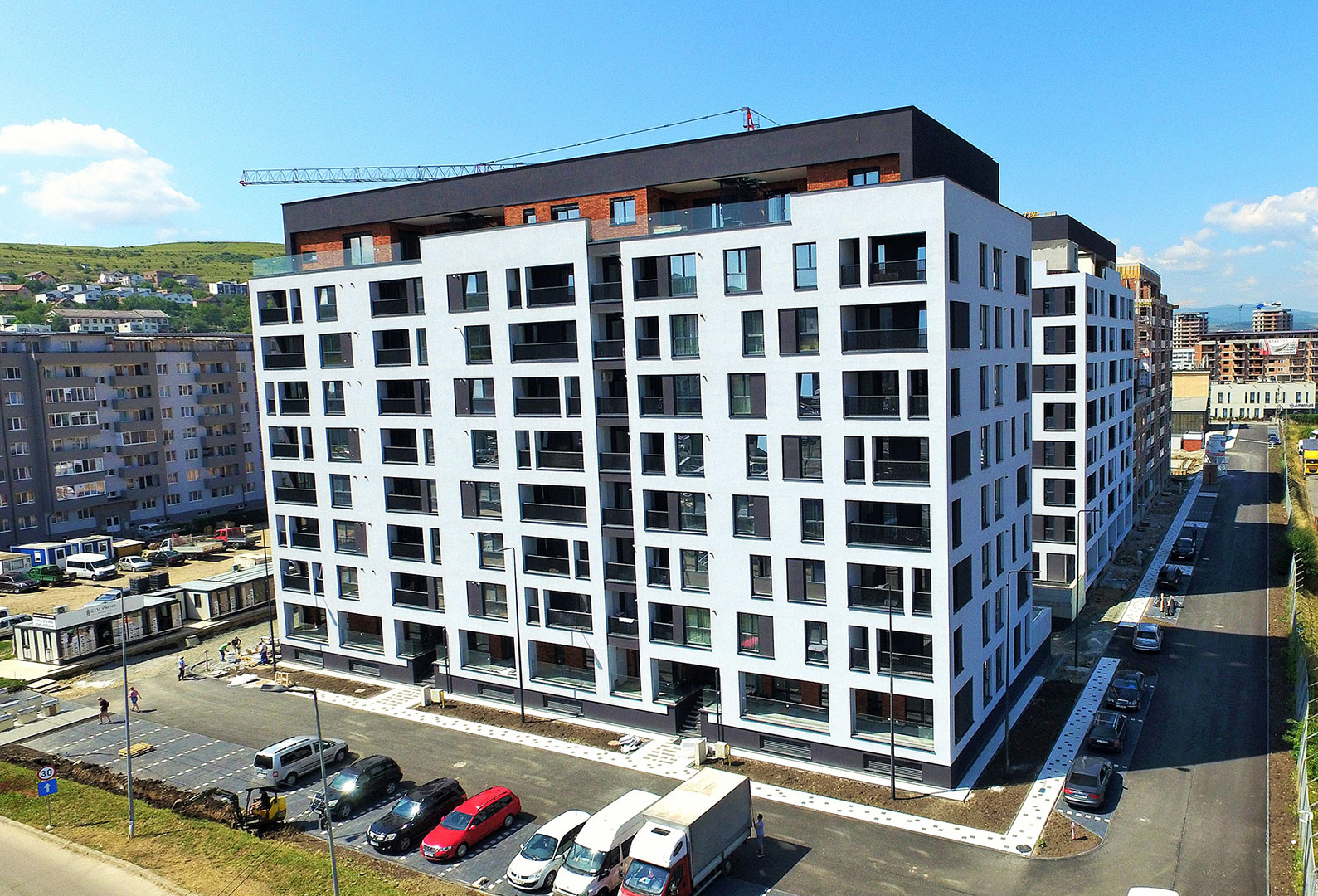 Apartamente Floresti Stadiu Proiect Iunie Iulie 2019 Columna Residence