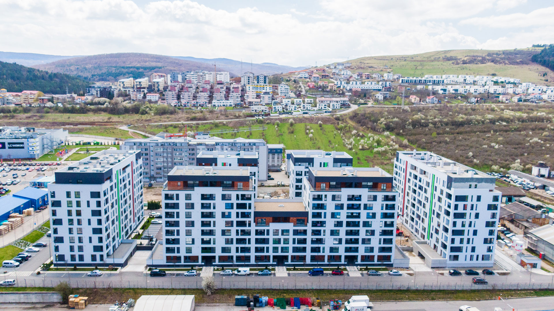Apartamente Floresti Stadiu Proiect Martie Aprilie 2021 Columna Residence