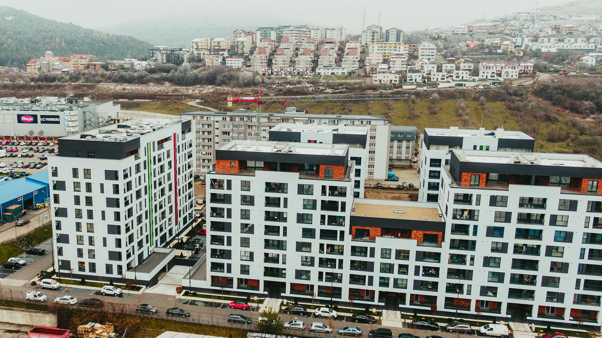 Apartamente Floresti Stadiu Proiect Octombrie Noiembrie 2020 Columna Residence