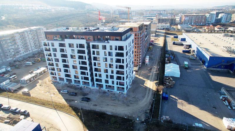Apartamente Floresti Stadiu Proiect Septembrie Noiembrie 2018 Columna Residence